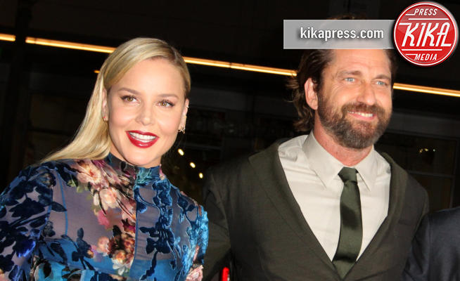 Abbie Cornish, Gerard Butler - Los Angeles - 16-10-2017 - Gerard Butler e Abbie Cornish scatenano una tempesta a Hollywood