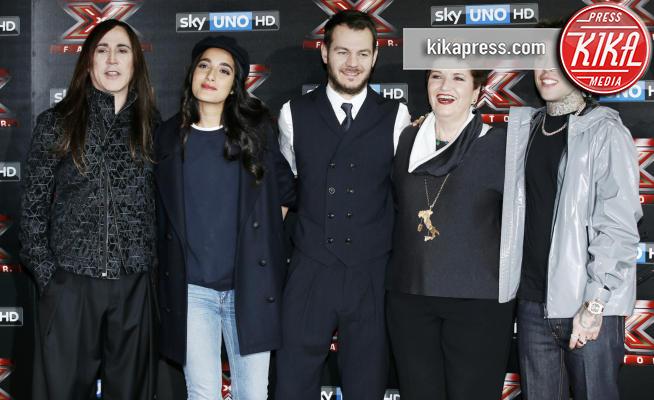 Levante, Fedez, Alessandro Cattelan, Mara Maionchi, Manuel Agnelli - Milano - 24-10-2017 - X-Factor 11: ecco chi è il primo eliminato