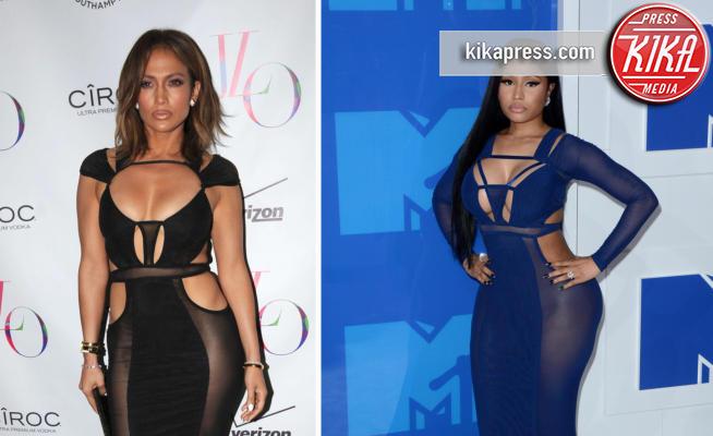 Nicki Minaj, Jennifer Lopez - 08-11-2017 - Chi lo indossa meglio? Jennifer Lopez e Nicki Minaj