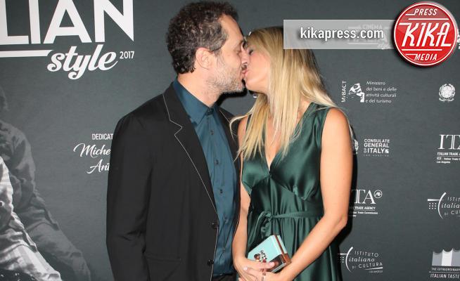 Francesca Barra, Claudio Santamaria - Hollywood - 17-11-2017 - Svelato il segreto di Francesca Barra e Claudio Santamaria