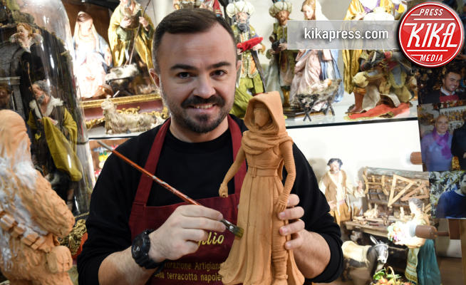 Genny di Virgilio - Napoli - 27-11-2017 - Statuette Star Wars: dalla bottega al red carpet Disney