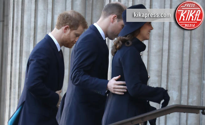Catherine, Principe William, Kate Middleton, Principe Harry - Londra - 14-12-2017 - Kate, William e Harry ricordano le vittime della Grenfell Tower