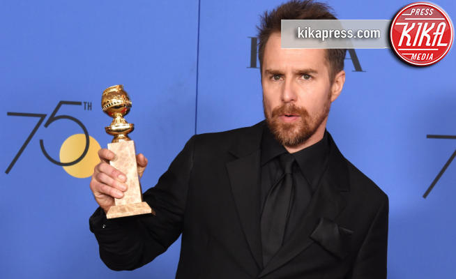 Sam Rockwell - Beverly Hills - 07-01-2018 - Golden Globe 2018: trionfa Tre Manifesti a Ebbing, Missouri