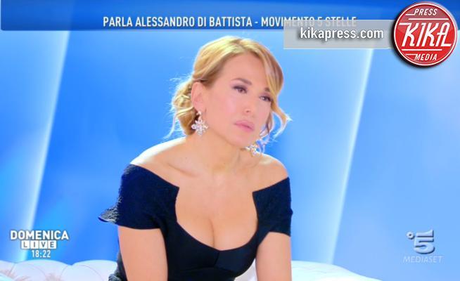 Barbara D'Urso - Milano - 21-01-2018 - La prima volta di Di Battista da Barbara D'Urso