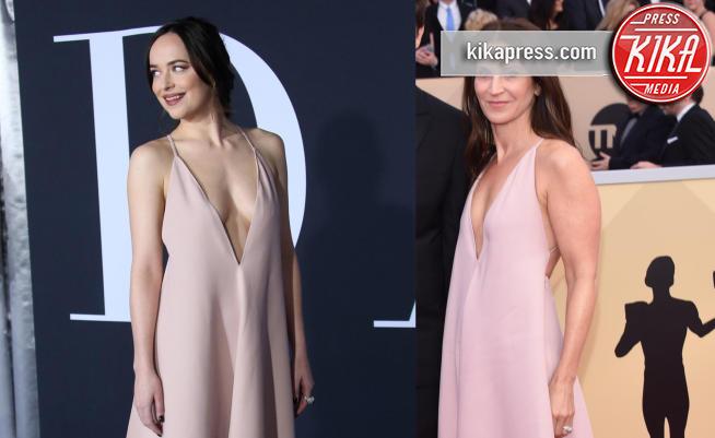 Dakota Johnson, Amanda Anka - 22-01-2018 - SAG Awards: Amanda Anka e Dakota Johnson, chi lo indossa meglio?