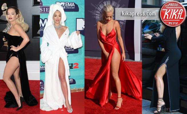 Rita Ora - 29-01-2018 - Rita Ora l'Atomica: anche ai Grammy, lo spacco è la sua firma!