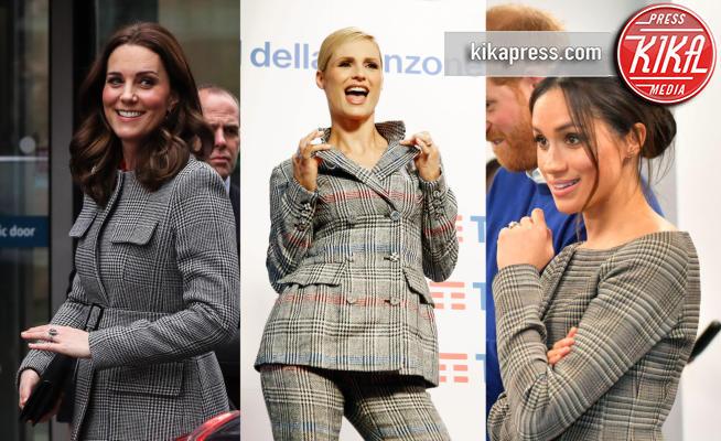 Meghan Markle, Kate Middleton, Michelle Hunziker - 05-02-2018 - Michelle sceglie il principe di Galles... come Kate e Meghan!