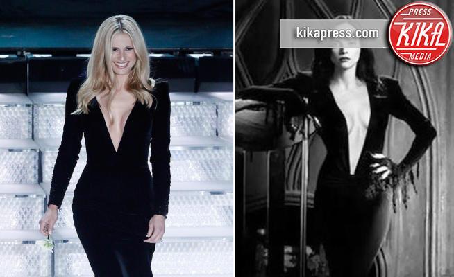 Michelle Hunziker, Christina Ricci - 07-02-2018 - Sanremo: Hunziker/Christina Ricci, chi lo indossa meglio?