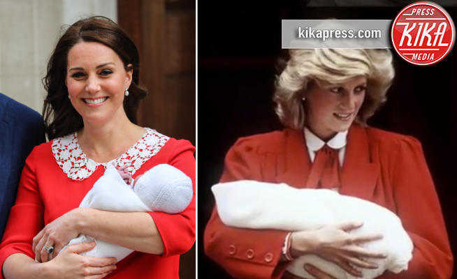 Kate Middleton, Lady Diana - Kate Middleton, per il royal baby in rosso come Lady Diana