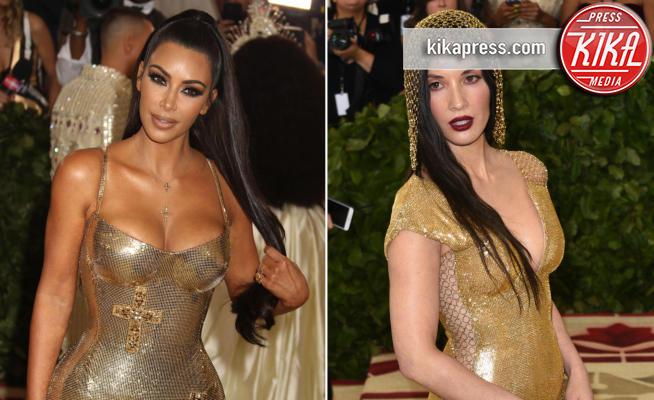 Kim Kardashian, Olivia Munn - 08-05-2018 - Met Gala 2018: Chi lo indossa meglio? Kim Kardashian/Olivia Munn