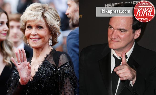 Jane Fonda, Quentin Tarantino - Los Angeles - 16-05-2018 - Quentin Tarantino è il sogno proibito di Jane Fonda