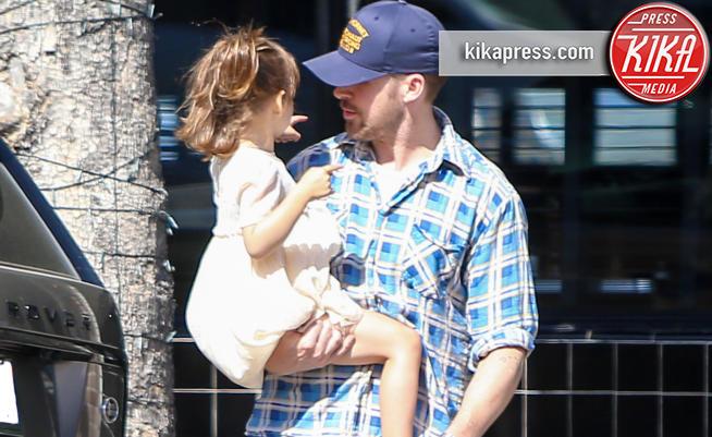 Esmeralda Amada Gosling, Ryan Gosling - Los Angeles - 15-05-2018 - Ryan Gosling, che tenerezza di papà!