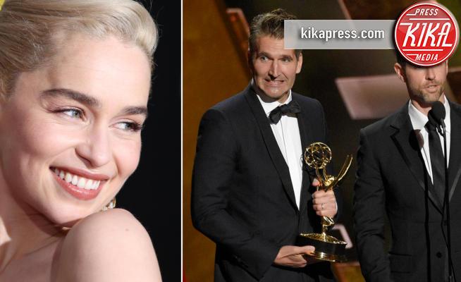 D.B. Weiss, Emilia Clarke, David Benioff - Los Angeles - 28-05-2018 - Emilia Clarke: