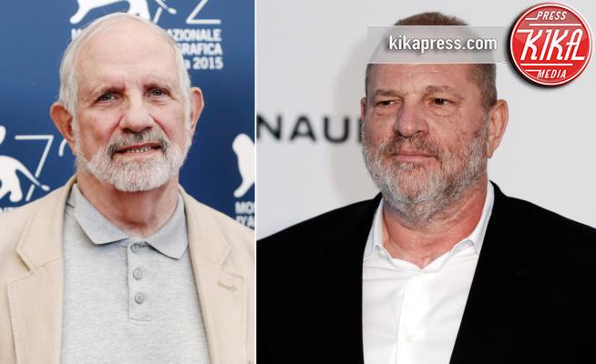 Brian De Palma, Harvey Weinstein - Los Angeles - 04-06-2018 - Brian De Palma girerà un horror ispirato ad Harvey Weinstein