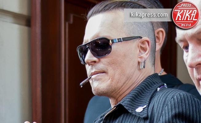 Johnny Depp - Varsavia - 12-06-2018 - Johnny Depp, la trasformazione in rock star è completa