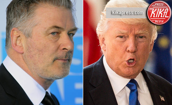 Donald Trump, Alec Baldwin - Los Angeles - 13-06-2018 - Alec Baldwin sicuro: