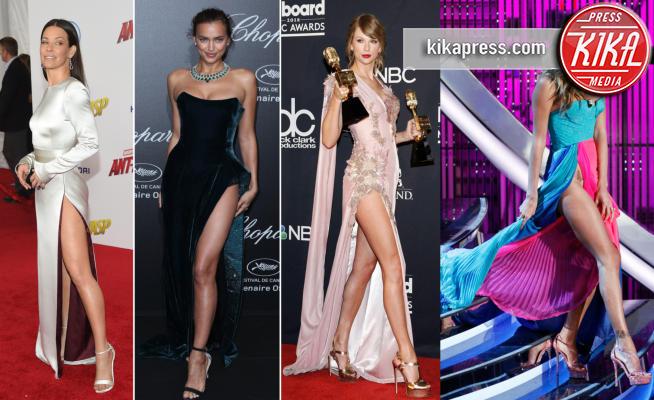 Irina Shayk, Belen Rodriguez, Taylor Swift, Evangeline Lilly - 26-06-2018 - Da Evangeline a Irina, sul red carpet lo spacco... spacca!