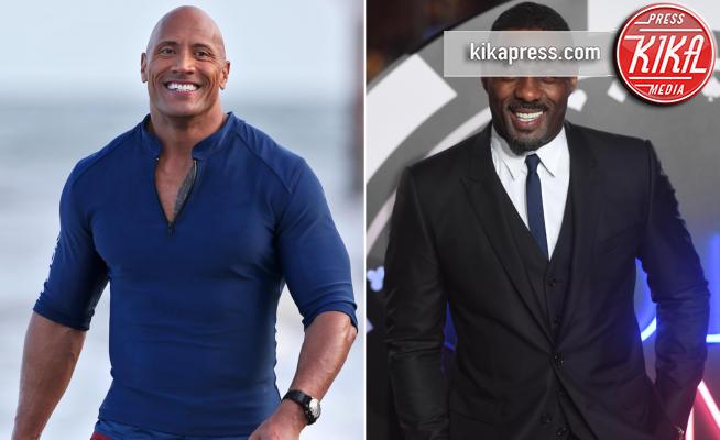 Dwayne Johnson, Idris Elba - Los Angeles - 12-07-2018 - Dwayne Johnson: