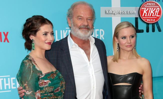 Lauren Miller Rogen, Kristen Bell, Kelsey Grammer - Los Angeles - 01-08-2018 - Kristen Bell: la pantera nera della première di Like Father