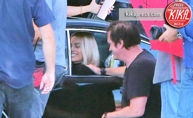 Margot Robbie, Quentin Tarantino - Hollywood - 07-08-2018 - Margot Robbie, che feeling con Quentin Tarantino!