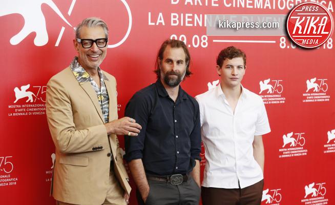Rick Alverson, Tye Sheridan, Jeff Goldblum - Venezia - 30-08-2018 - Venezia 75: Jeff Goldblum al photocall di The Mountain