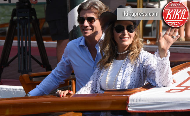 Venezia - 30-08-2018 - Venezia 75: Dimitri Lorena e Daniela Santanchè sbarcano al Lido