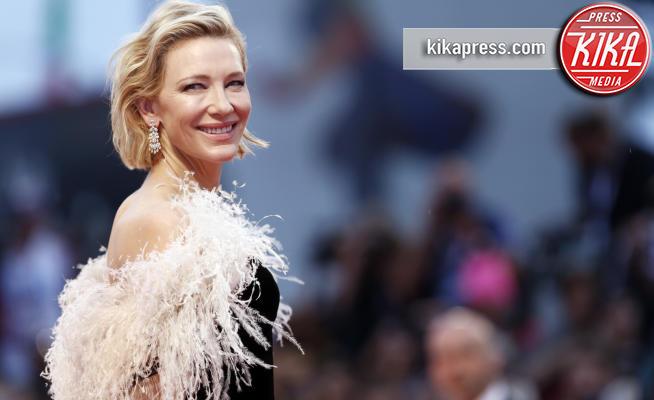 Cate Blanchett - Venezia - 31-08-2018 - Cate Blanchett, l'angelo biondo ha cambiato look: ora e' cosi'