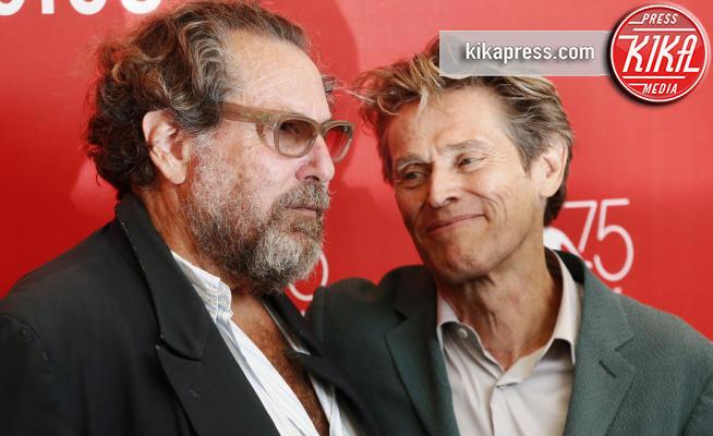 Julian Schnabel, Willem Dafoe - Venezia - 03-09-2018 - Venezia 75: Julian Schnabel porta Van Gogh alla kermesse