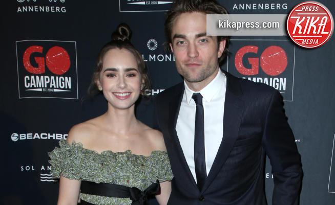Lily Collins, Robert Pattinson - Los Angeles - 21-10-2018 - Robert Pattinson e Lily Collins supportano la GO Campaign