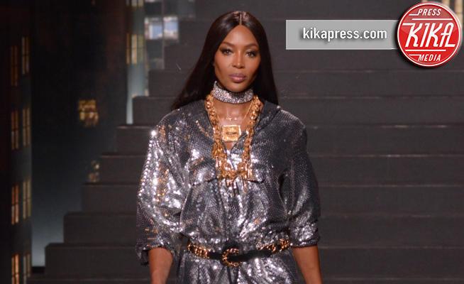 Naomi Campell, sfilata Moschino, H&M - New York - 25-10-2018 - Moschino porta Naomi in passerella, Paris Jackson sul red carpet