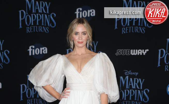 Emily Blunt - Hollywood - 30-11-2018 - Emily Blunt, première in bianco per Mary Poppins