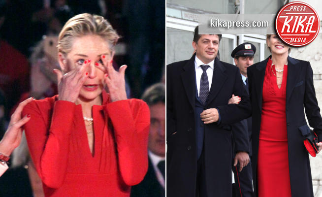 Sharon Stone - Roma - 02-12-2018 - Sharon Stone in lacrime per la Croce Rossa (col nuovo fidanzato)