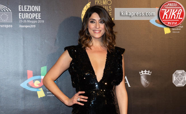Elisa Isoardi - Roma - 04-12-2018 - Premio Braille, Elisa Isoardi, il dopo-Salvini è raggiante