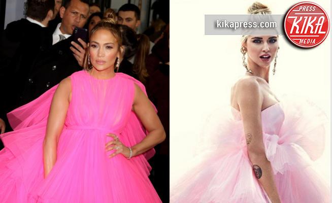 Chiara Ferragni, Jennifer Lopez - 13-12-2018 - Jennifer Lopez e Chiara Ferragni, chi lo indossa meglio?