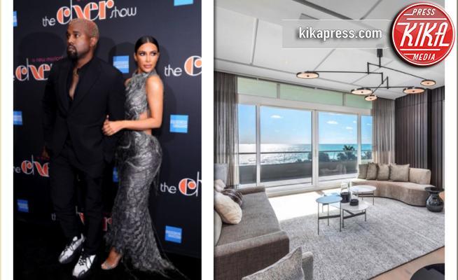 Il nido d'amore di Kim Kardashian e Kanye West, entrate con noi
