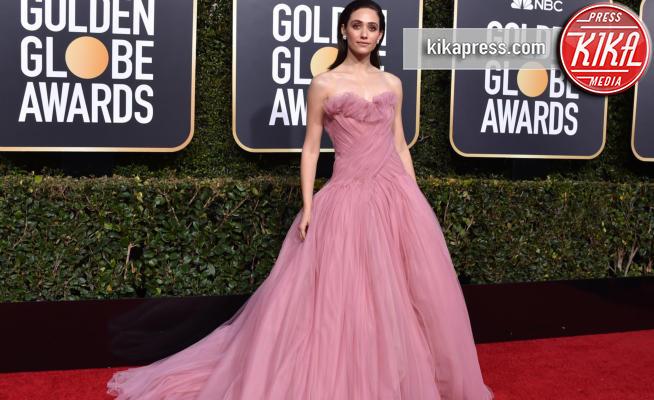 Emmy Rossum - Beverly Hills - 06-01-2019 - Golden Globe 2019: gli stilisti sul red carpet