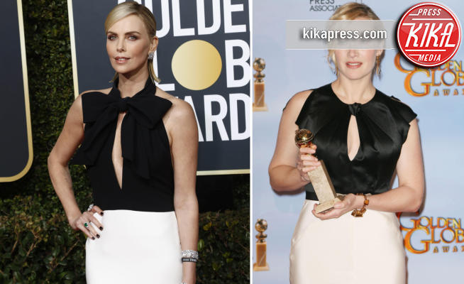 Kate Winslet, Charlize Theron - Beverly Hills - 07-01-2019 - Charlize Theron e Kate Winslet, chi lo indossa meglio?