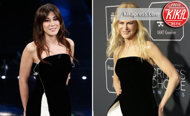Sanremo 2019, Virginia Raffaele-Kidman: chi lo indossa meglio?