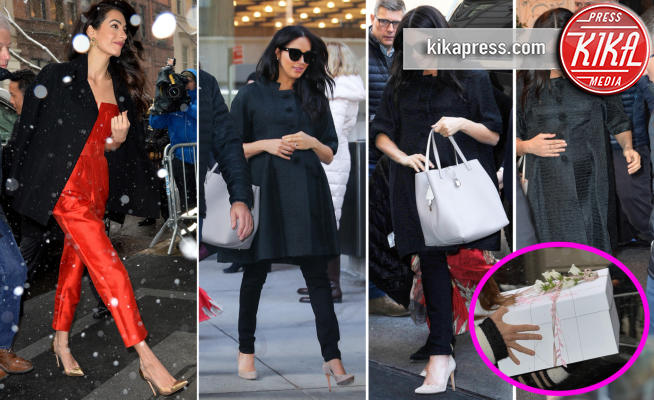 Amal Alamuddin, Meghan Markle - 21-02-2019 - Meghan Markle: al baby shower anche Amal Clooney