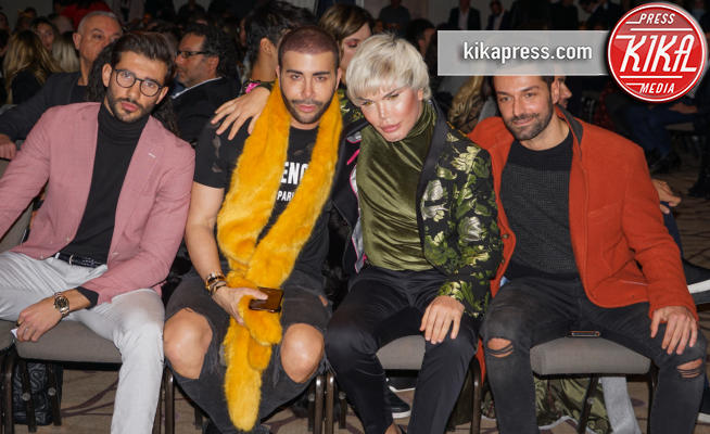 Artur Dainese, Rodrigo Alves, Antonio Palmentieri, Giacomo Urtis - 24-02-2019 - Tripudio di Vip per il Milano Fashion Day 2019
