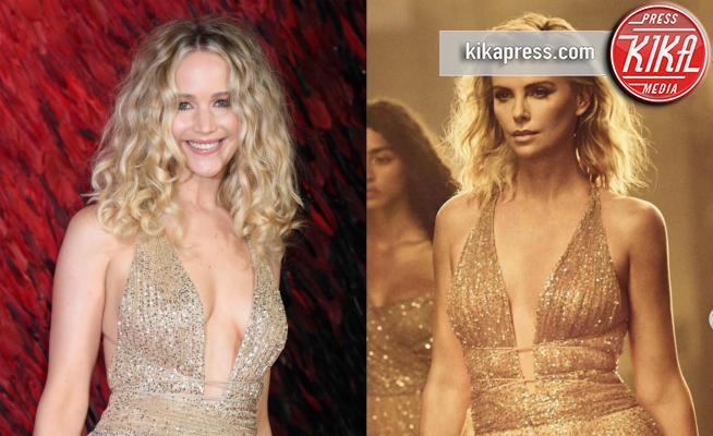 Charlize Theron - 04-03-2019 - Charlize Theron e Jennifer Lawrence, chi lo indossa meglio?