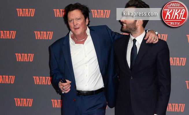 Andrea Iervolino, Michael Madsen - Milano - 06-03-2019 - Michael Madsen alla presentazione della piattaforma TaTaTu