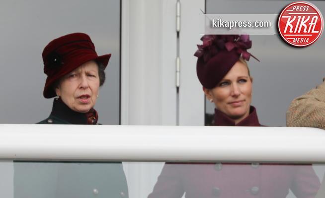 Zara Tindall, Principessa Anna d'Inghilterra, Zara Phillips, Princess Anne - Cheltenham - 13-03-2019 - Cheltenham Festival: Zara Phillips e mamma Anna in prima fila