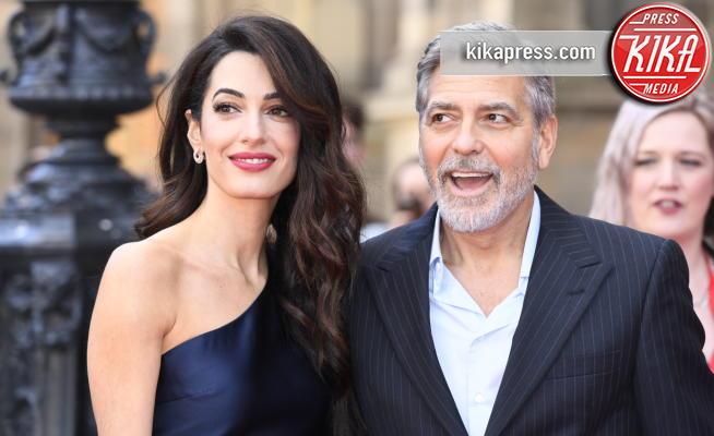 Amal Alamuddin Clooney, George Clooney - Edimburgo - 14-03-2019 - George Clooney rivela: