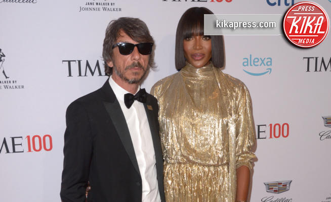 Pierpaolo Piccioli, Naomi Campbell - New York - 24-04-2019 - TIME 100 Gala 2019: Naomi Campbell esalta l'Italia
