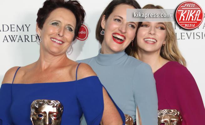Phoebe Waller-Bridge, Jodie Comer, Fiona Shaw - Londra - 12-05-2019 - Phoebe Waller-Bridge & co: ai Bafta vincono le donne