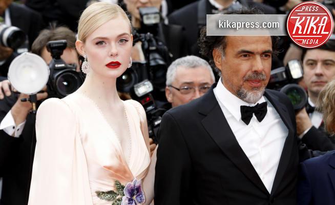 Alejandro González Inárritu, Elle Fanning - Cannes - 14-05-2019 - Cannes 2019: le foto della prima giornata