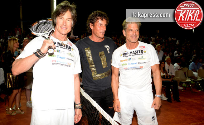 Clayton Norcross, Ronn Moss - Milano Marittima - 07/13/2016 - Vip Master Tennis, there are also Ronn Moss and Clayton Norcross