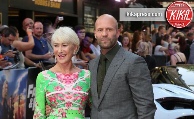 Jason Statham, Helen Mirren - Londra - 23-07-2019 - Helen Mirren in verde sul red carpet di Fast and Furious