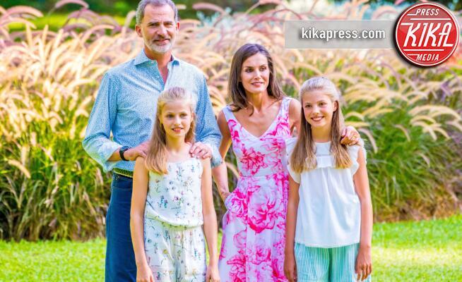 Principessa Sofia di Borbone, Principessa Leonor di Borbone, Re Felipe di Borbone, Letizia Ortiz - Mallorca - 04-08-2019 - I Reali di Spagna vanno in vacanza: le foto di rito